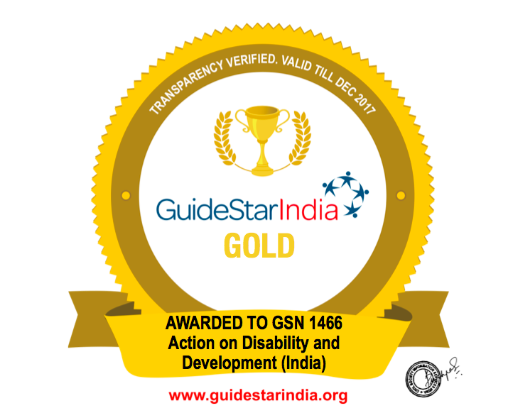 Guidestar India Accreditation for good practices
